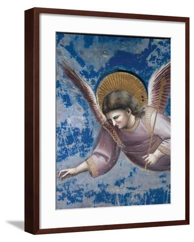 Scenes From the Life of Christ Presentation of Christ at the Temple-Giotto di Bondone-Framed Art Print