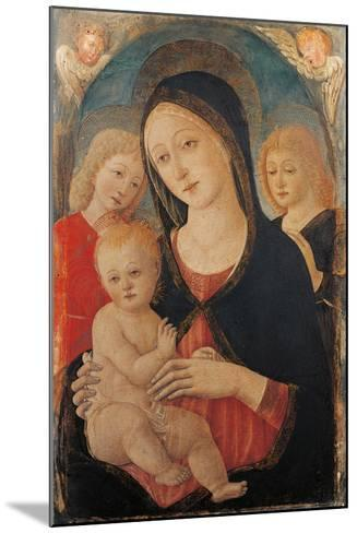Madonna with Child and Two Angels-Cozzarelli Guidoccio-Mounted Giclee Print