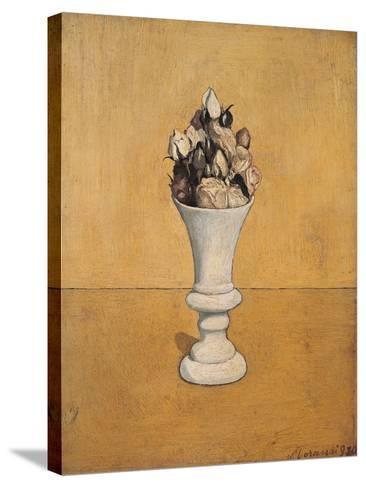 Flowers-Giorgio Morandi-Stretched Canvas Print