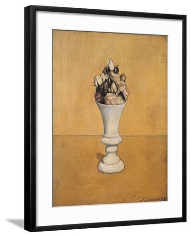 Flowers-Giorgio Morandi-Framed Art Print