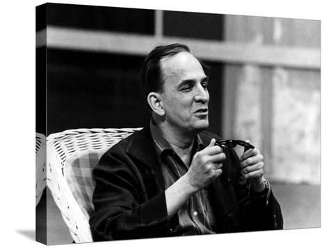 Ingmar Bergman Sitting Down--Stretched Canvas Print