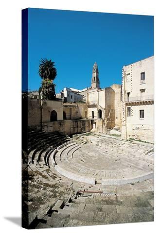 Roman Theatre - Lecce, 1st Century, Stone--Stretched Canvas Print
