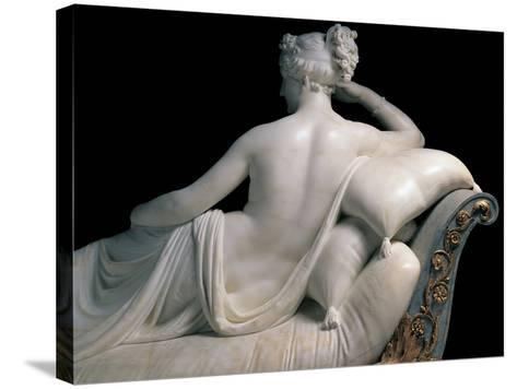 Pauline Borghese Bonaparte As Venus Victrix-Canova Antonio-Stretched Canvas Print