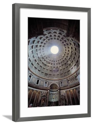 Pantheon, 118-125, Rome, Italy--Framed Art Print
