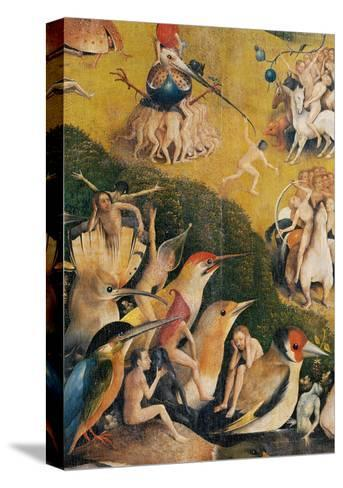 Garden of Earthly Delights,(Martyrs & Angels) by Hieronymus Bosch, c. 1503-04. Prado. Detail.-Hieronymus Bosch-Stretched Canvas Print