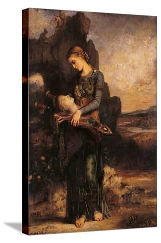 Orpheus-Gustave Moreau-Stretched Canvas Print