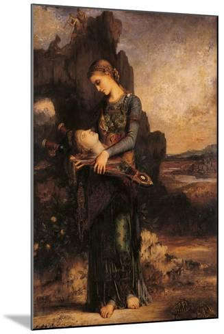 Orpheus-Gustave Moreau-Mounted Art Print