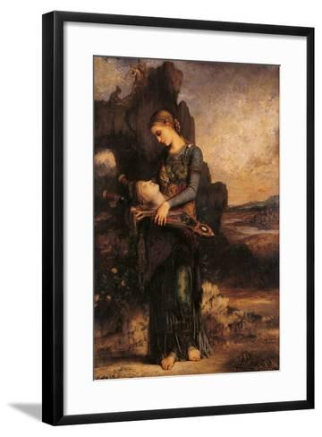 Orpheus-Gustave Moreau-Framed Art Print