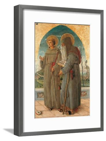 St. Francis and St. Anthony Abbot-Schiavone Chiulinovich-Framed Art Print