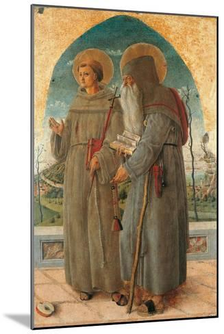 St. Francis and St. Anthony Abbot-Schiavone Chiulinovich-Mounted Art Print