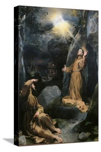 Saint Francis Receiving the Stigmata-Barocci-Stretched Canvas Print