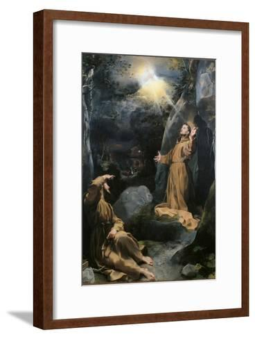 Saint Francis Receiving the Stigmata-Barocci-Framed Art Print
