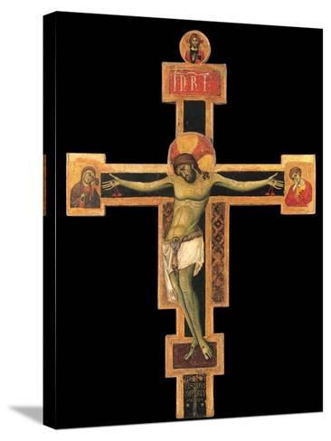 Christ on the Cross-Giunta Pisano-Stretched Canvas Print