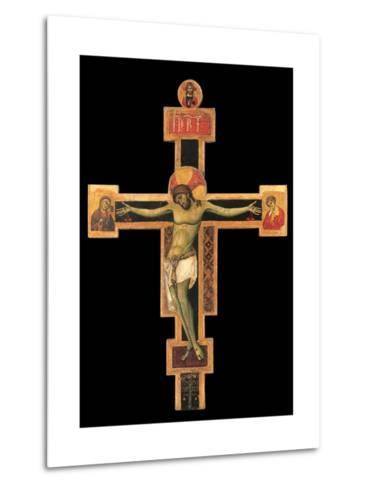 Christ on the Cross-Giunta Pisano-Metal Print