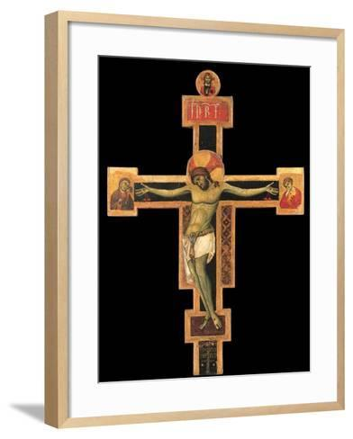 Christ on the Cross-Giunta Pisano-Framed Art Print