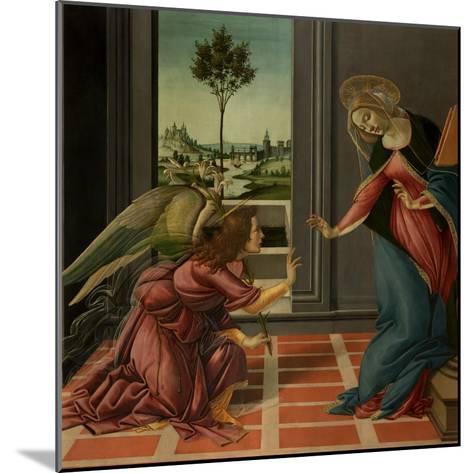 Annunciation-Sandro Botticelli-Mounted Art Print
