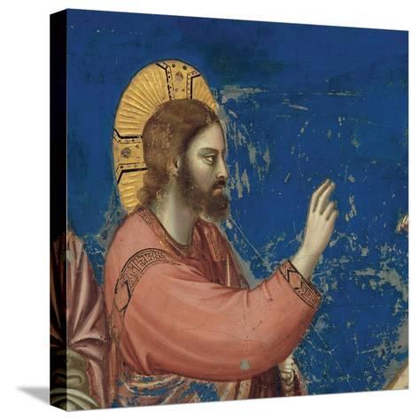 Life of Christ, Raising of Lazarus-Giotto di Bondone-Stretched Canvas Print