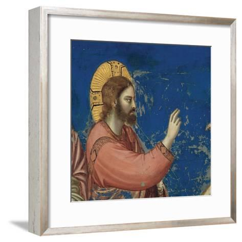 Life of Christ, Raising of Lazarus-Giotto di Bondone-Framed Art Print
