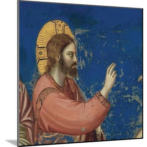 Life of Christ, Raising of Lazarus-Giotto di Bondone-Mounted Art Print