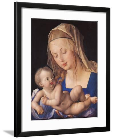 Madonna of the Pear-Albrecht D?rer-Framed Art Print