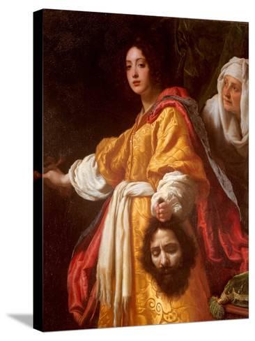 Judith Beheading Holofernes-Cristofano Allori-Stretched Canvas Print