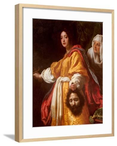 Judith Beheading Holofernes-Cristofano Allori-Framed Art Print