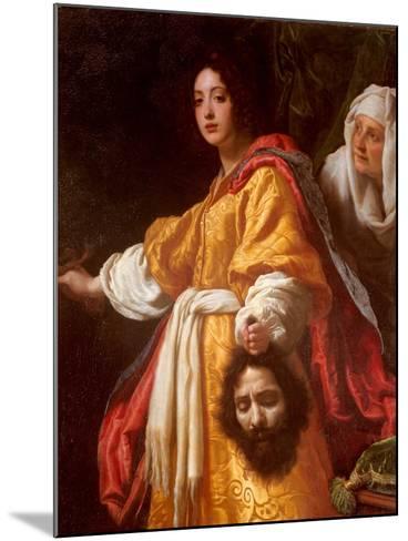 Judith Beheading Holofernes-Cristofano Allori-Mounted Art Print
