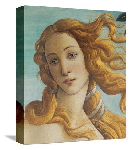 Birth of Venus, Head of Venus-Sandro Botticelli-Stretched Canvas Print