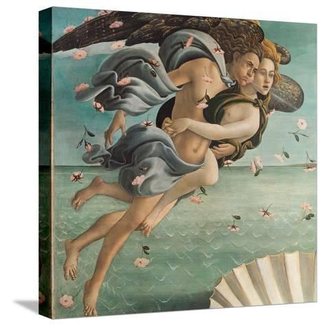 Birth of Venus, Zephyrus and Aura-Sandro Botticelli-Stretched Canvas Print