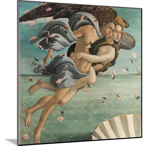 Birth of Venus, Zephyrus and Aura-Sandro Botticelli-Mounted Art Print