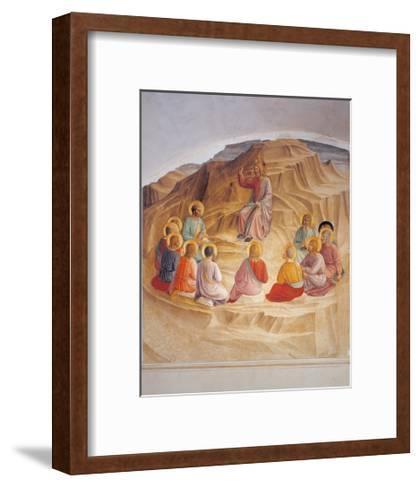 Sermon on the Mount-Beato Angelico-Framed Art Print