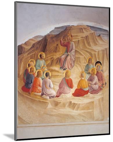 Sermon on the Mount-Beato Angelico-Mounted Art Print