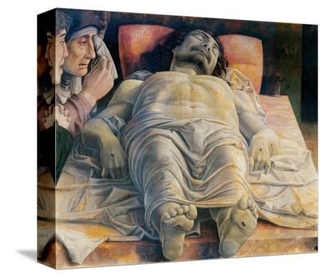 Christo in Scurto (Foreshortened Christ or the Dead Christ)-Andrea Mantegna-Stretched Canvas Print