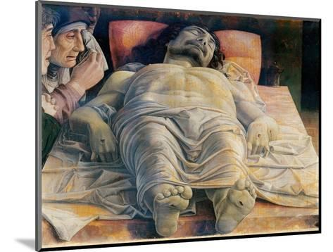 Christo in Scurto (Foreshortened Christ or the Dead Christ)-Andrea Mantegna-Mounted Art Print
