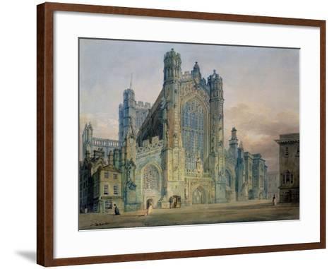 The West Front of Bath Abbey-J^ M^ W^ Turner-Framed Art Print