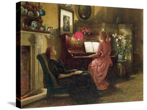 Home Sweet Home, 1887-Henry Dunkin Shepard-Stretched Canvas Print