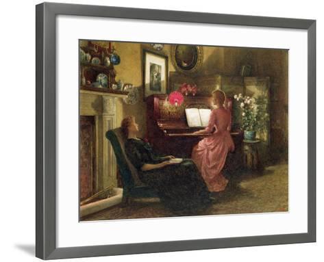 Home Sweet Home, 1887-Henry Dunkin Shepard-Framed Art Print