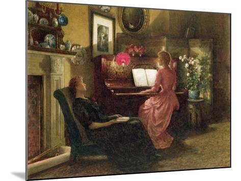 Home Sweet Home, 1887-Henry Dunkin Shepard-Mounted Giclee Print