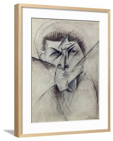 Study for Empty and Full Abstracts of a Head, 1912-Umberto Boccioni-Framed Art Print