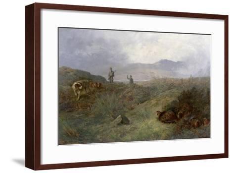 Suspense-Archibald Thorburn-Framed Art Print