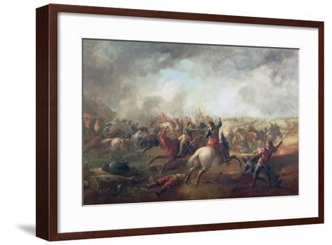 Battle of Marston Moor, 1644-John Barker-Framed Art Print