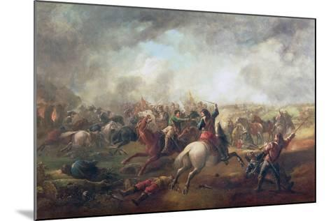 Battle of Marston Moor, 1644-John Barker-Mounted Giclee Print