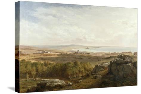 View from Madron Carn, 1836-Richard Thomas Pentreath-Stretched Canvas Print