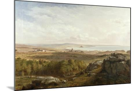 View from Madron Carn, 1836-Richard Thomas Pentreath-Mounted Giclee Print