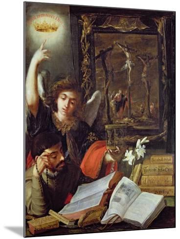 A Jesuit Conversion-Juan de Valdes Leal-Mounted Giclee Print