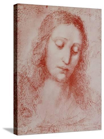The Redeemer-Leonardo da Vinci-Stretched Canvas Print