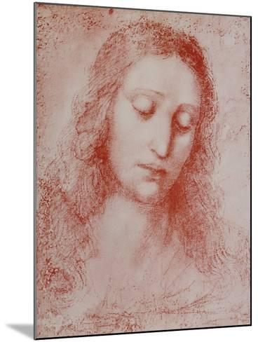 The Redeemer-Leonardo da Vinci-Mounted Giclee Print