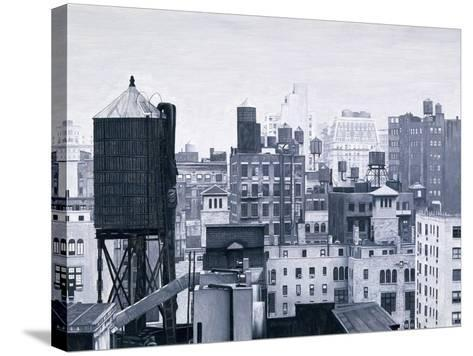 New York Water Towers, 2002-Max Ferguson-Stretched Canvas Print