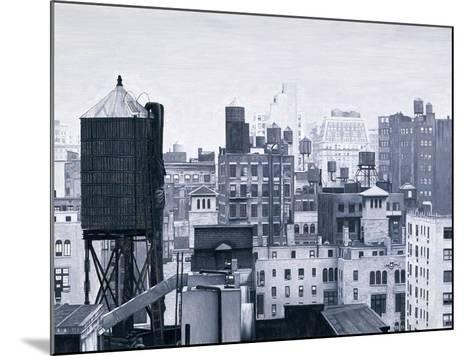 New York Water Towers, 2002-Max Ferguson-Mounted Giclee Print