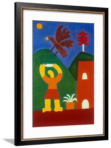 Para Jose Maria-Cristina Rodriguez-Framed Art Print
